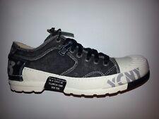Yellow Cab Y12013 Herren Sneaker Canvas mit Lederbesatz schwarz Größe 40-42-46