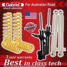 4 x Raised Gabriel Shock + Coil Spring for Hyundai Santa FE 4WD CM Wagon 06-9/08
