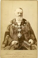 Victorian Cabinet photograph - Portrait of a MAYOR  - Barraud, London