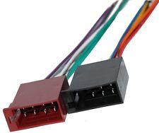 Connecteur fiche ISO 8PIN + 5PIN pour autoradio précâblée faisceau universel