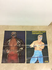 """Lot of 2 WCW Sting pin up magazine posters 16"""" x 10"""""""
