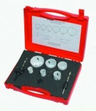 Todays Tools Plombiers Bi-métal scie-cloche Kit 10 pcs 22,29,35,38,44,48,57mm in Case