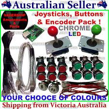 2x JOYSTICKS & 14x BUTTONS & Xin-mo USB Encoder - Pack Arcade / Mame / Multicade