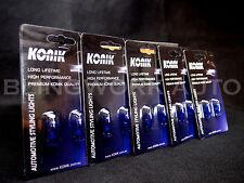10 x KONIK T10 W5W 12V 5000K White Light Halogen Parker Rego Number Plate Bulb