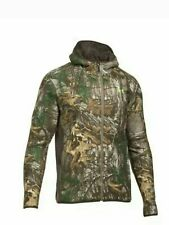 NEW Under Armour Mens Stealth Hunting Camo Fleece Hoodie Jacket 1283119-946