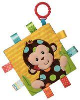 Taggies CRINKLE ME MONKEY Baby Comforter Blanket Soft Toys Activities