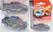 Majorette S.O.S. CARS 212057181 VW Amarok I Pick Up Doppelkabine POLICE ca. 1:65