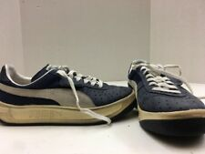 Puma Size 6 Women's Blue And White Lace Up Shoes Jl 1101 17