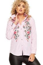 Camisa de mujer de manga larga color principal rosa