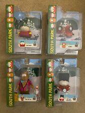 South Park Series 1 Action Figure Lot MEZCO (4) Cartman, Kenny, Big Gay Al 2005