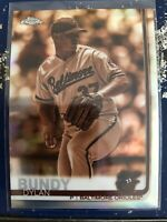 2019 Topps Chrome Sepia SP Dylan Bundy #5 - BALTIMORE ORIOLES