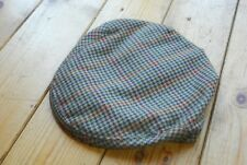 Pure Wool Checked Hounstooth Tweed Barbour Flat Cap Country Clothing 57/58