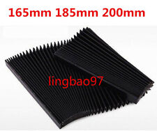 Flexible CNC Engraver Machine Protective Flat Accordion Bellows Cover Tool 200mm