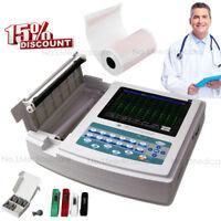 CONTEC 12 Channel lead EKG Machine, Touch Screen, Electrocardiograph, USB PC SW