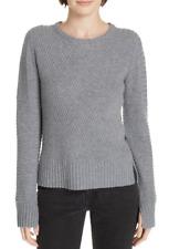 Equipment Abril Wool & Cashmere Sweater Grey XL NWT $350
