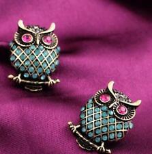 Betsey Johnson pink eyes owl Earrings  & Free Gift $5.99