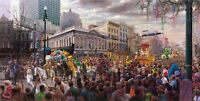 """""""The Spirit of New Orleans"""" Jewel of the South Mardi Gras by RC Davis"""