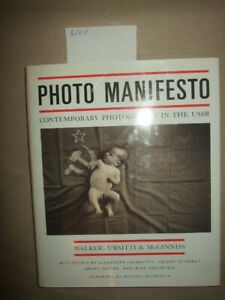 Photo Manifesto - Contemporary Photography in the USSR, 1991,Russische Fotokunst