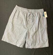 Vintage NAUTICA Men's SLEEP SHORTS Gray - Size Large NWT