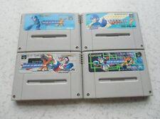 Used Nintendo Super Famicom Rockman 7,X1,X2,X3 set SFC Japan