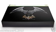 BATMAN ARKHAM ASYLUM Collectors Edition Xbox 360 Video Game UK PAL Box Set