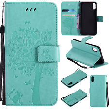 Leather Flip Card Stand Case Wallet Cover For Samsung S8+ Note 5 8 C5 C7 J7 J3