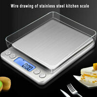0.01g/0.1g Digital Electronic Kitchen Food Diet Scale Weight Balance LCD Gram