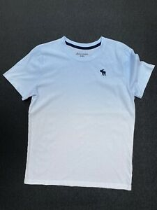 Abercrombie And Fitch Blue And White T-shirt Super Soft