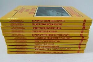 Time Life Books The Kodak Library of Creative Photography Lot of 11 books