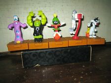 """5 RARE HTF COLLECTABLE LOONEY TUNES SPACE JAM FIGURE'S  LOT , """" SOLD AS IS """""""