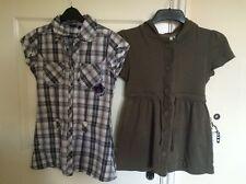 2x KappAhl Shirt Gilet Hooded Top Bundle Womens Girls Ladies Size XS Black Cat