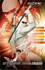 2009 GI JOE MOVIE DITYCH POSTER SET STORM SHADOW SNAKE EYES VERY COOL GREAT DEAL