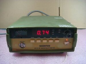 Boonton 4210 RF Microwattmeter