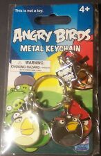 Angry Birds Metal Keychain by Rovio NEW ON CARD 2010