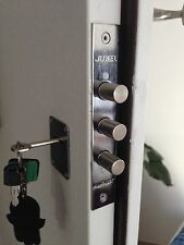 Mul t lock deadbolt door Lock 3 bolts High Security Safe Keys Locksmith mortise