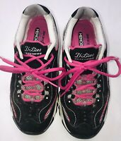Ladies Skechers D'Lites Air Cooled Memory Foam  Sz 7 Pink Black