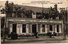 CPA CHATEAURENARD - Hotel et Café de la Gare (213025)