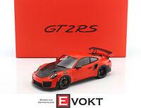 Spark WAX02100036 Porsche 911 (991 II) GT2 RS Bj.2017 lava orange-black 1:18