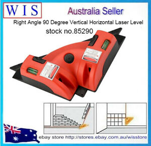 Pro Right Angle 90° Vertical Horizontal Laser Line Projection Square Level-85290