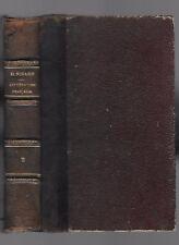 HISTOIRE de la LITTÉRATURE FRANÇAISE Tome 2 poésie tragédie par D.NISARD en 1883