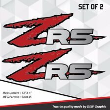 *NEW* ZR5 ZR-5 4x4 VINYL DECAL STICKER S-10 EXTREME Sonoma ZR-2 S10  SA0135