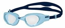Arena The One Junior Swimming Goggles - Clear/Cyan/Blue