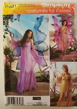Simplicity 0531 3632 Misses Costume Fairy Sewing Pattern Size HH 6 8 10 12  UCFF