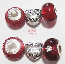 Bigiotteria rossi cristallo cuore