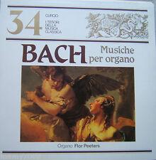 I TESORI DELLLA MUSICA CLASSICA=N°34=BACH=MUSICHE PER ORGANO