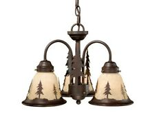 YOSEMITE BURNISHED BRONZE FAN LIGHT KIT LIGHTING RUSTIC  LK55516BBZ-C VAXCEL NEW