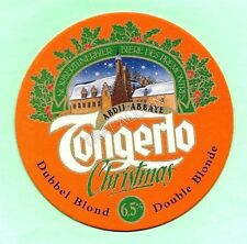 ancien sous-bock  TONGERLO CHRISTMAS  (envoi monde gratuit) sb1675