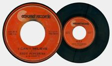 Philippines EDDIE PEREGRINA I Can't Believe OPM 45 rpm Record