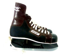 Vintage 1976 Bauer Challenger Hockey Skates Men's Size 8 Made in Canada