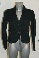 adorable veste été coton lin noir BILL TORNADE taille L 36 fr 40i NEUVE 320€